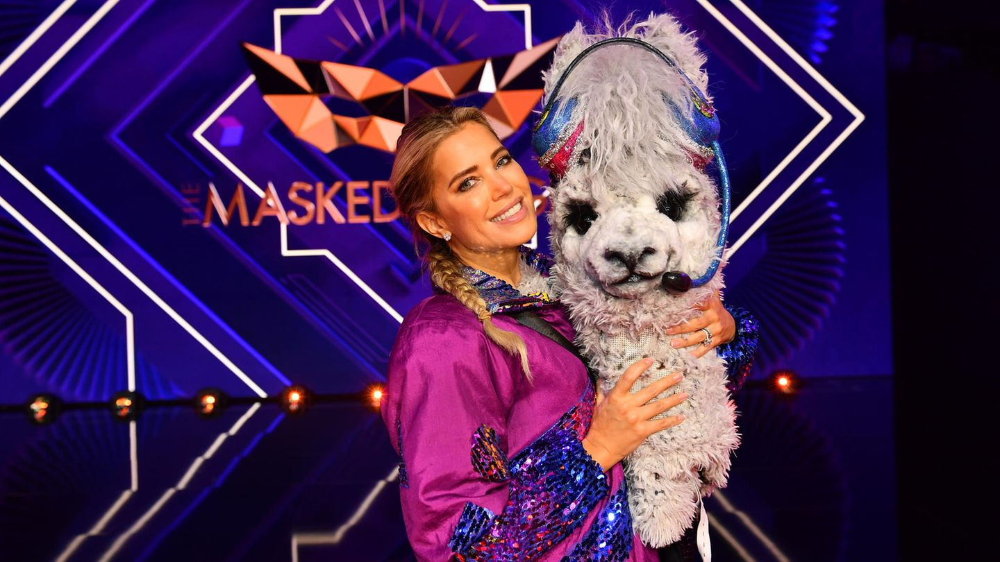 "Sylvie Meis bei ""The Masked Singer"""