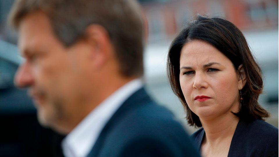 Nach der US-Wahl: Die Grünen-Spitze Annalena Baerbock und Robert Habeck