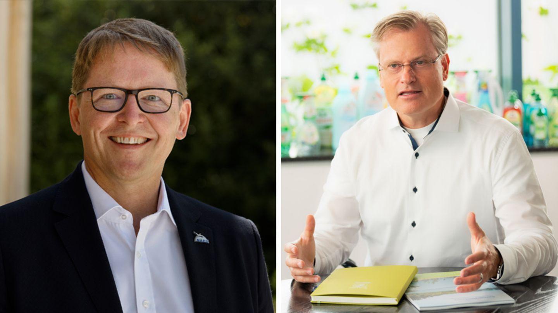 Reinhard Schneider und Jörg-Andreas Krüger