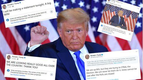 US-Wahl: Höchste Alarmstufe bei Facebook und Twitter