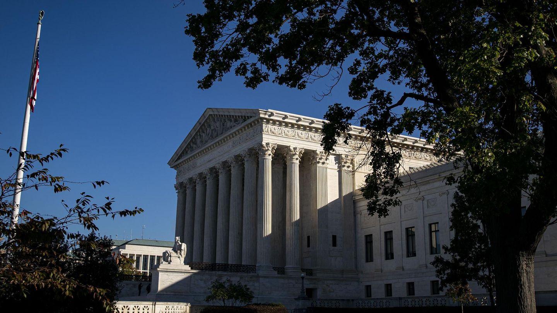 Der Oberste Gerichtshof in Washington D.C.