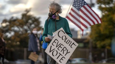 Count every vote US-Wahl