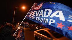 Trump-Supporter in Nevada