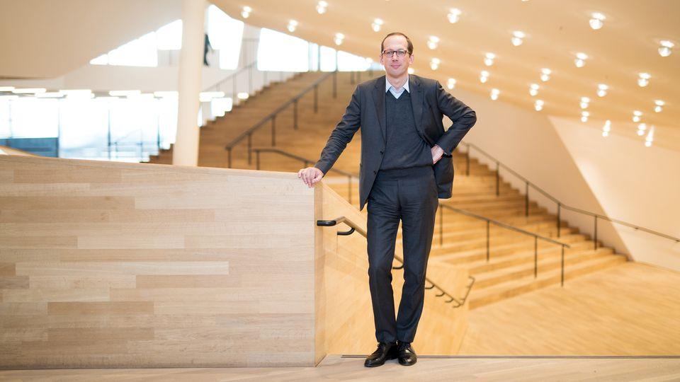 Christoph Lieben-Seutter ist Generalintendant der Elbphilharmonie in Hamburg
