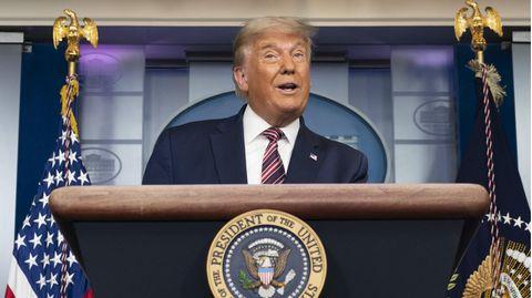 US-Präsident bekommt inzwischen auch von US-Medien Gegenspruch, die lange Zeit kritische Worte vermieden
