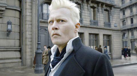 Johnny Depp als böser ZaubererGellert Grindelwald
