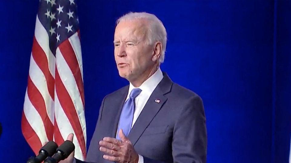 Joe Biden wendet sich an US-Bürger – die Highlights seiner Rede