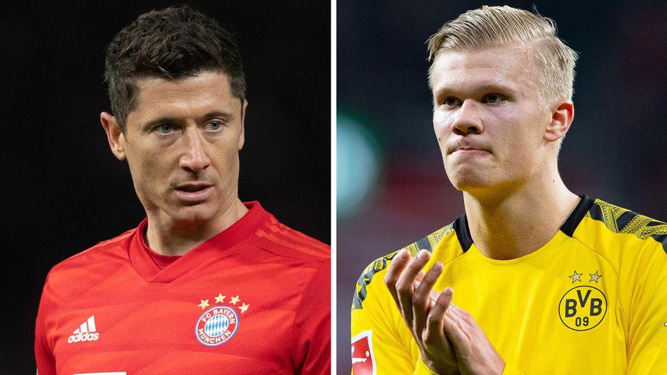 Bayern München gegen Borussia Dortmund in der Bundesliga
