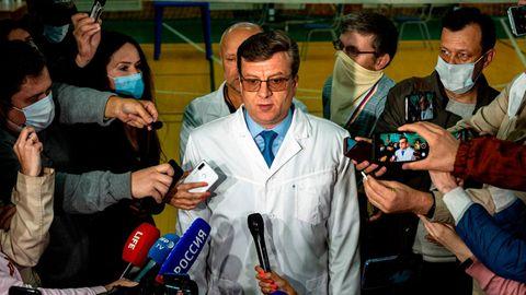 Chefarzt desNotfallkrankenhaus Nr. 1 inOmskAlexanderMurakhowsky