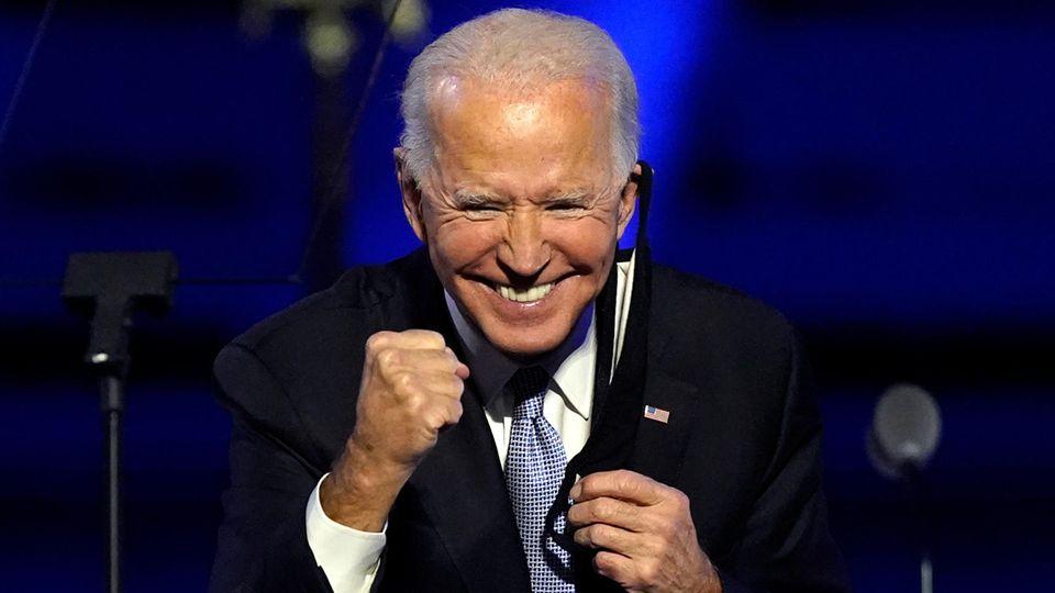 US-Wahl 2020: Joe Biden bei seiner Sieges-Rede