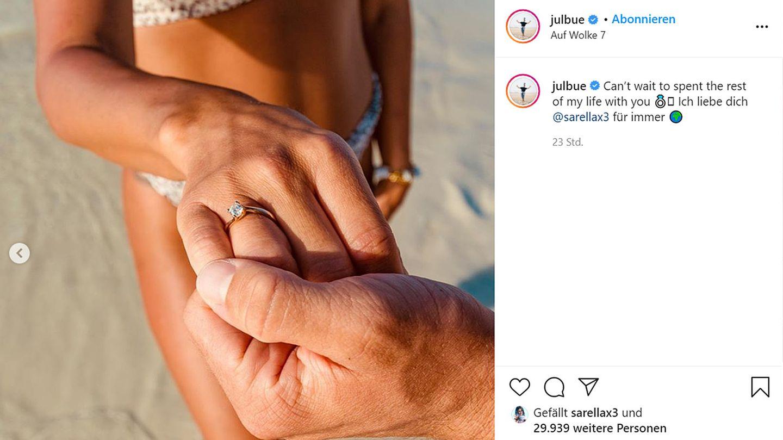 Vip News: Sarah Lombardi zeigt ihren Verlobungsring