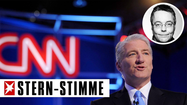 John King, Journalist des US-Senders CNN