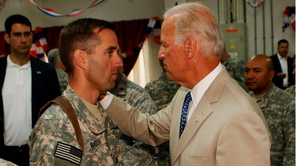 Beau Biden und Joe Biden