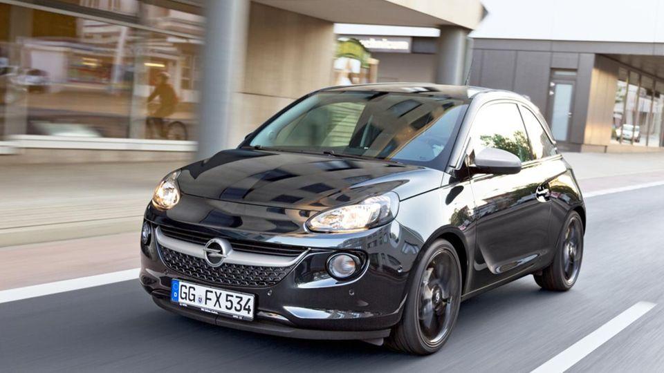 Auch kleinere Fahrzeuge wie der Opel Adam überzeugen mit guter Qualität.