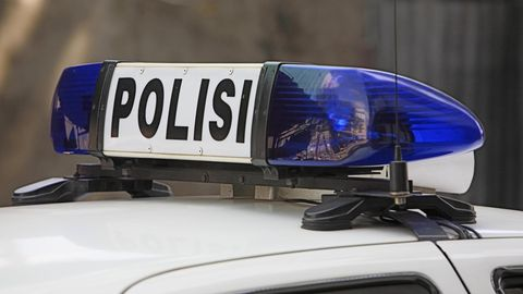 Polizei Indonesien