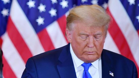 Nach seiner Präsidentschaft blickt Donald Trump einer ungewissen Zukunft entgegen
