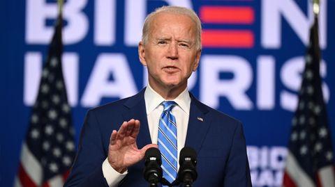 Muss sich erst noch im Amt beweisen: der designierte US-Präsident Joe Biden