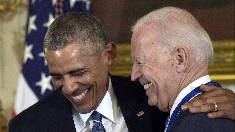 Joe Biden und Barack Obama