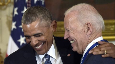Joe Biden und Barack Obama