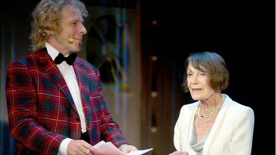 Anneliese Friedmann und Thomas Gottschalk