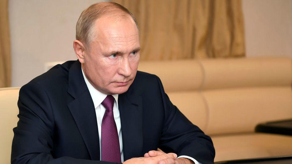 Waldimir Putin will mit den Glückwünschen an Joe Biden bis zur offiziellen Verkündung der Ergebnisse der Wahl warten