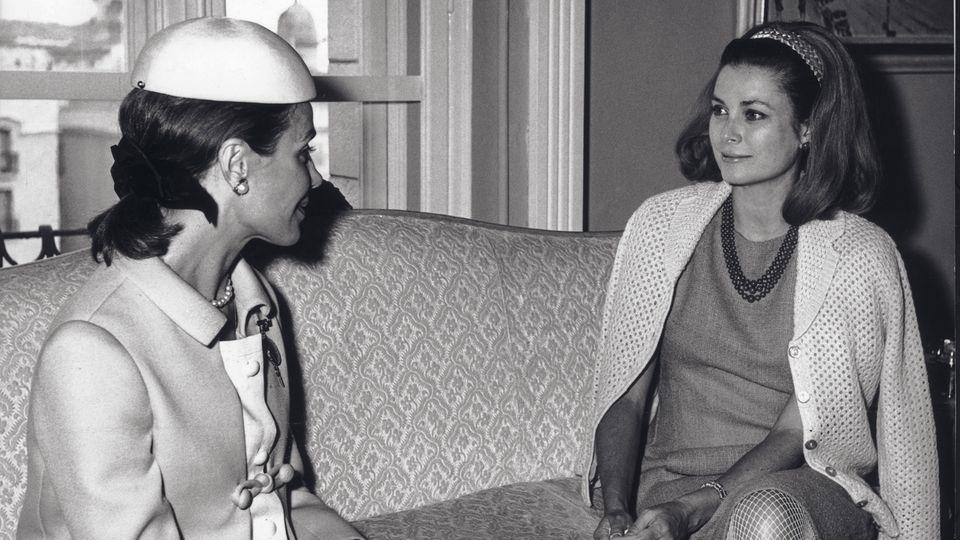 Anneliese Friedmann mit Grace Kelly