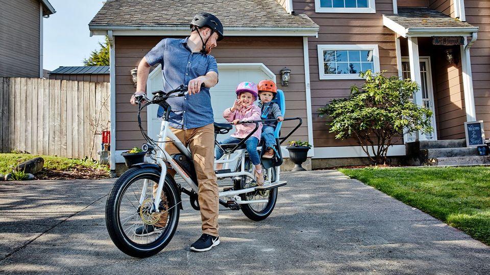 Kleine Kinder können mit einem zusätzlichen Metallrahmen geschützt werden.