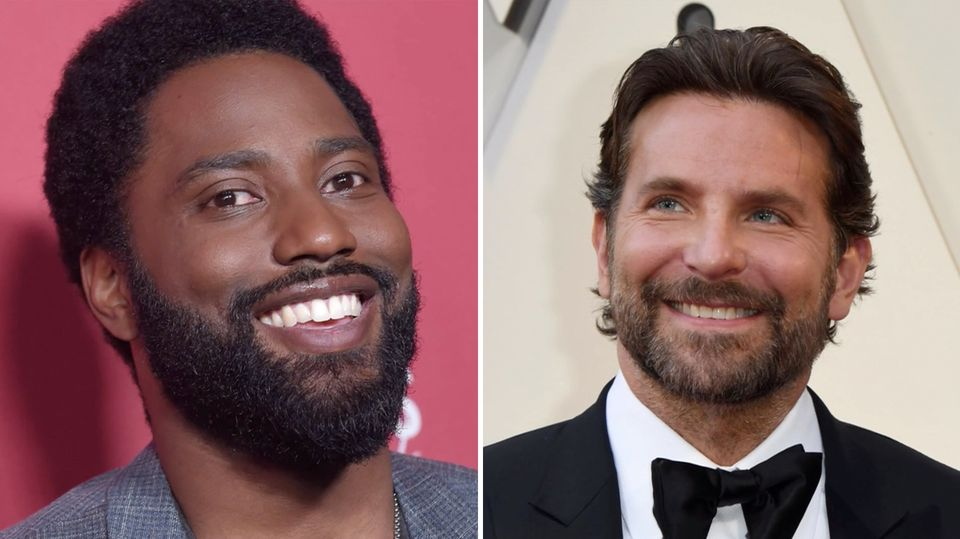John David Washington und Bradley Cooper