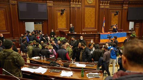 Armenien Parlament Proteste