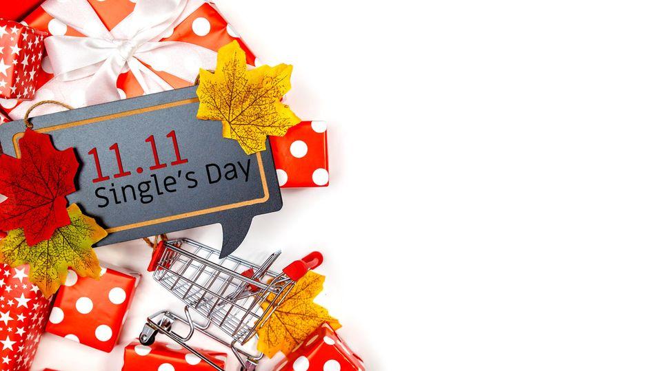 Der Singles Day findet am 11.11. statt
