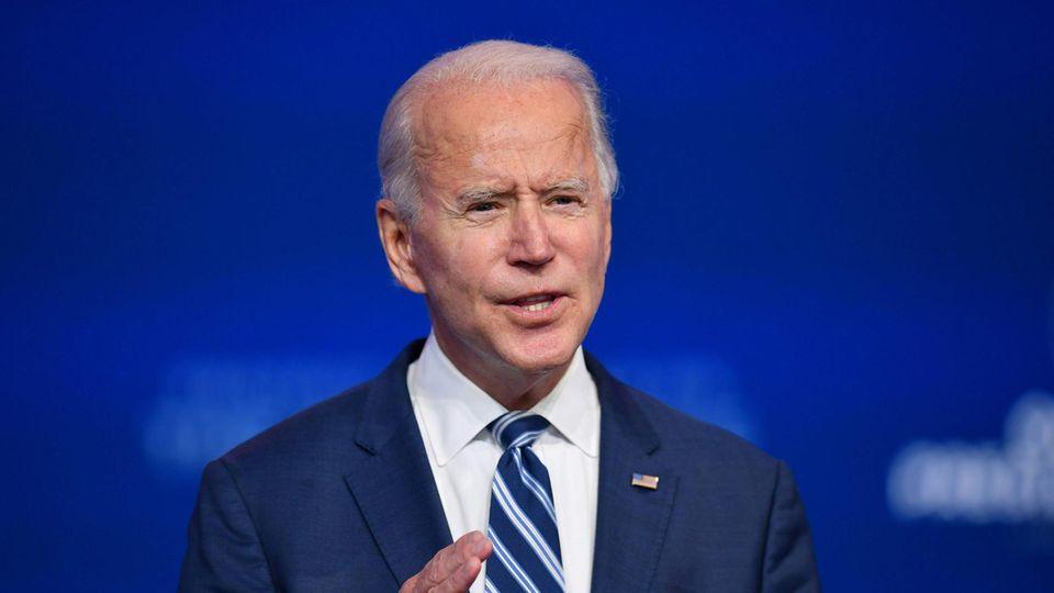 Der gewählte Präsident Joe Biden