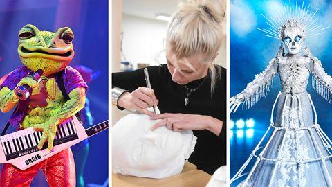 """""""The Masked Singer"""": Diese Frauen erstellen die aufwendigen Kostüme für die Show"""