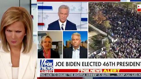 Kuriose Szene im laufenden Programm: Fox-Moderatorin rollt mit den Augen