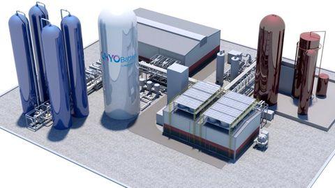So sieht die geplante Anlage aus. Grundsätzlich können die Tanks auch unterirdischder Erde angelegt werden.