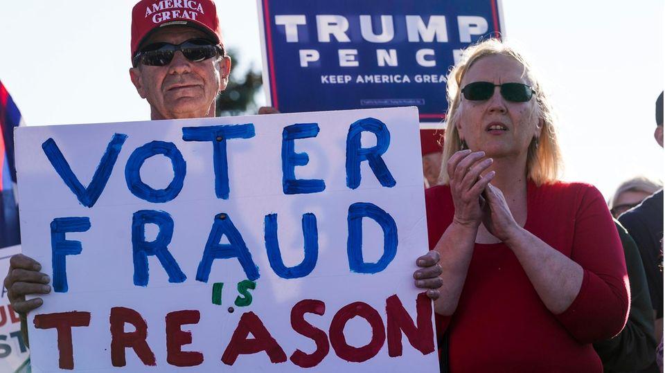 US-Wahl: die republikanische Mär von der Wahlfälschung