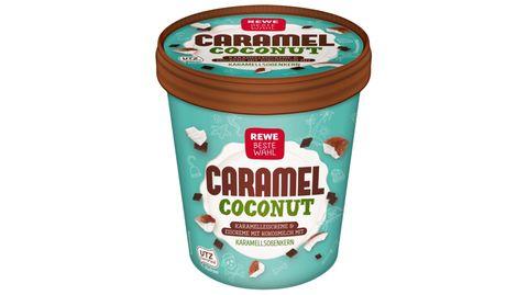 """""""Rewe Beste Wahl Caramel Coconut"""" Eis"""