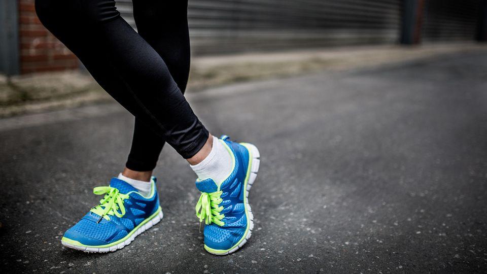 Thermo Leggings halten die Beine warm