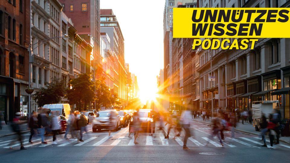 """Podcast """"Unnützes Wissen"""": Spannende Fakten zum Thema Mobilität"""