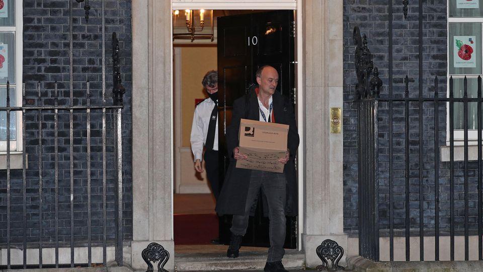 Dominic Cummings, Berater des britischen Premierminister Johnson