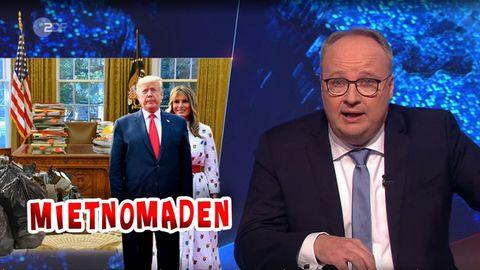 """Donald Trump wird in der """"heute-show"""" zum Hausbesetzer"""