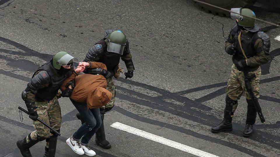 Festnahmen in Belarus