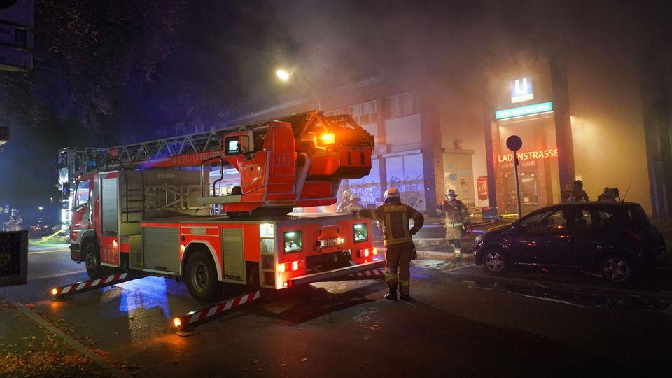 Nachrichten aus Deutschland – Großeinsatz der Feuerwehr Berlin