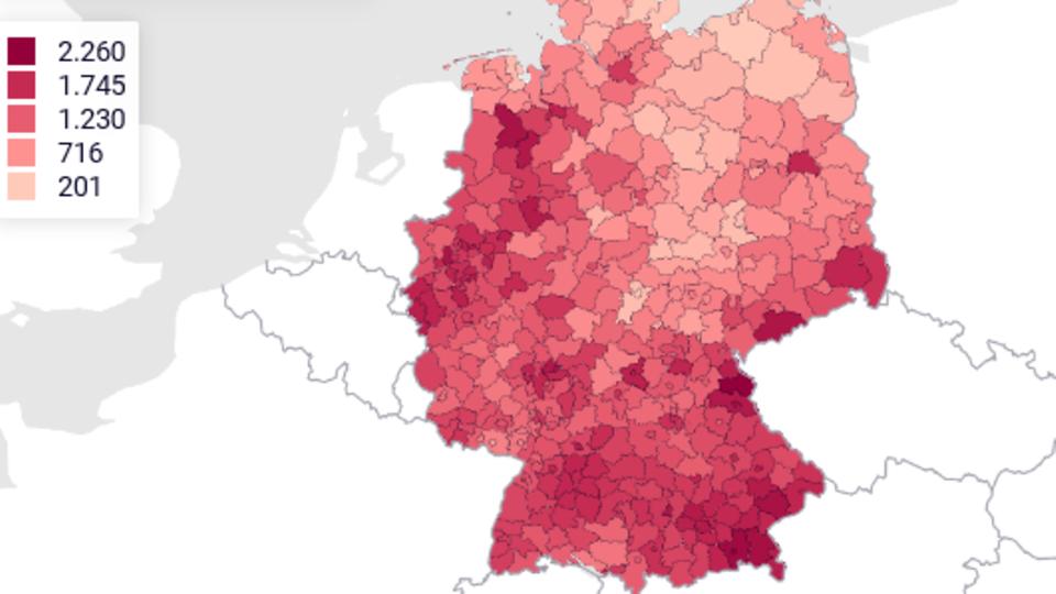 Die aktuelle Corona-Lage in Deutschland
