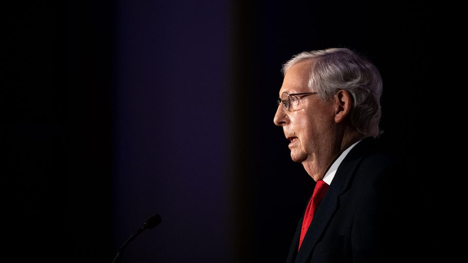 Der Mehrheitsführer des Senats, der Republikaner Mitch McConnell