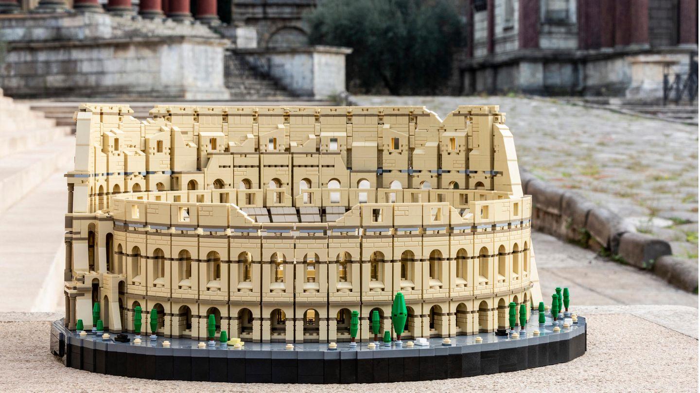 Kolossal: Das Lego-Modell des Kolosseums