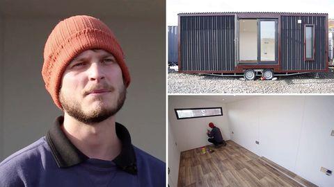 Mann baut Großbritanniens kleinstes Haus – und verlost es für 3 Pfund pro Ticket