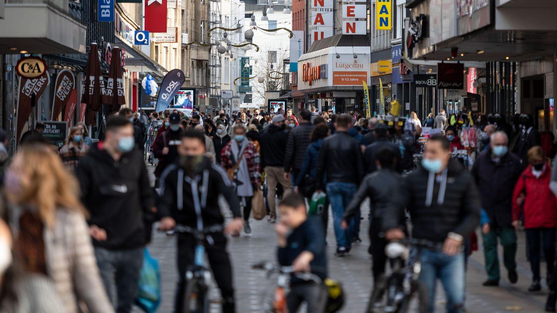 Einkaufsstraße in Dortmund
