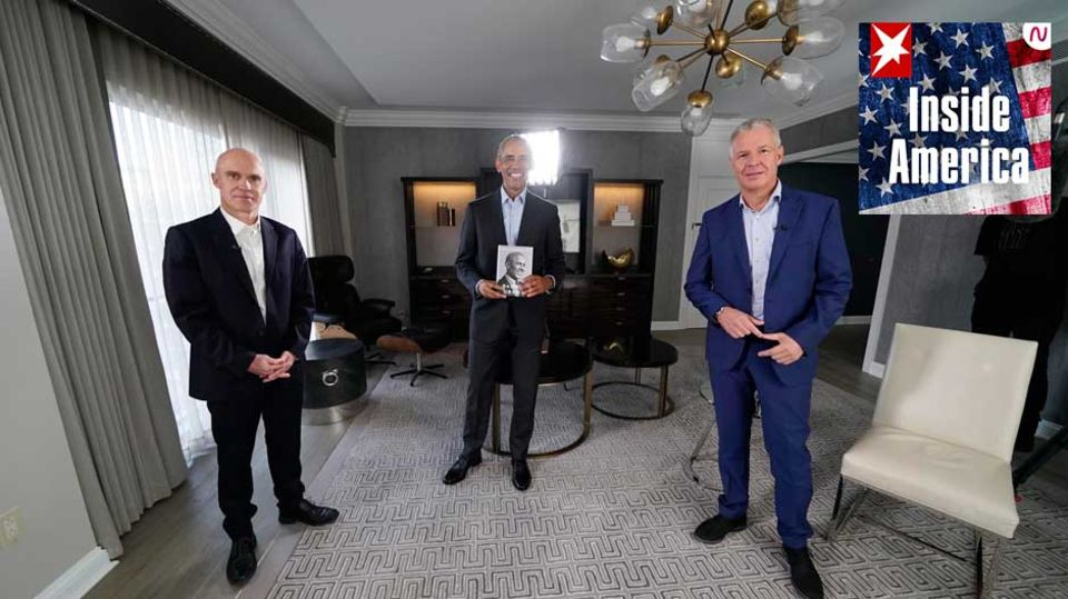 Jan Christoph Wiechmann, Barack Obama, Peter Kloeppel