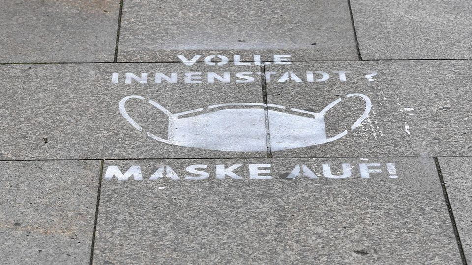 Fußgängerzone Erfurt