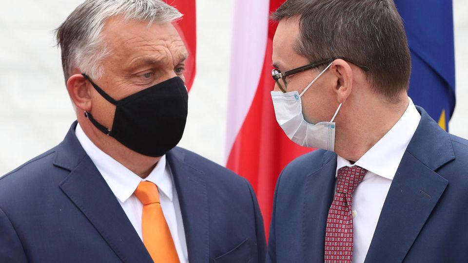 Ungarn Polen Blockade EU